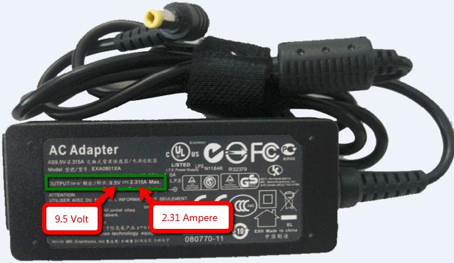aerbar-Lader-Volt-Ampere