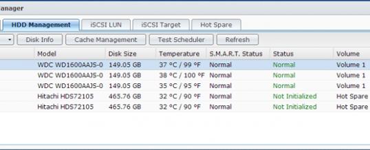Hvordan identificerer jeg diskene på min Synology NAS?