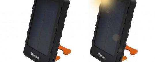 Oplad din mobil med solceller (Sandberg PowerPal 5000)