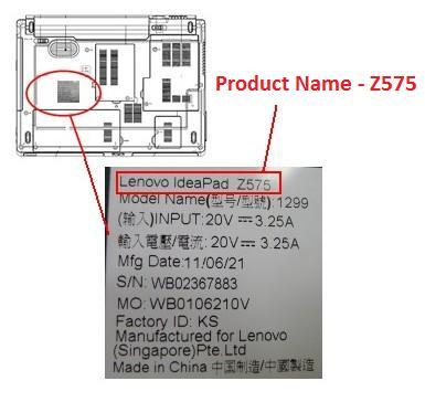 Lenovo-Product-navn