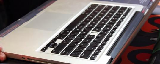 Udskift Tastatur på Apple Macbook Pro 13″ A1278