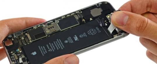 Udskiftning af Apple Iphone 6 Batteri