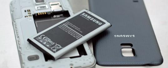 Udskiftning af Samsung Galaxy S4 & S5 Batteri