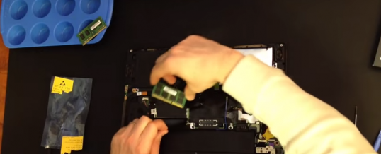 Skift / Opgrader Ram i Lenovo T440s bærbar
