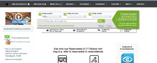 Find Reservedele til dine enheder (Bærbar, Stationær, TV, Server, Mobil mfl.)