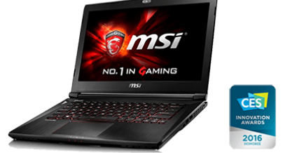 Find en ny lader til din MSI Gaming L745 Bærbar