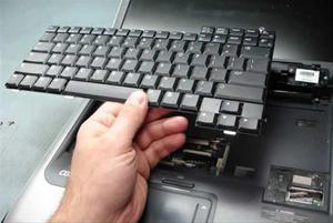 Find og udskift bærbar tastatur