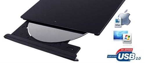 Eksternt optisk drev til USB – Samsung DVD SlimLine