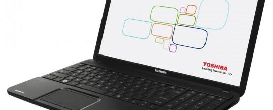 Skift tastatur på din Toshiba C850 Bærbar computer